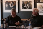 Chris Oglesby and Bobby Rymer at a Play for Publishers songwriting workshop at the Bluebird Cafe, Nashville Tennessee