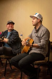 pro nashville songwriters at songwriting workshop
